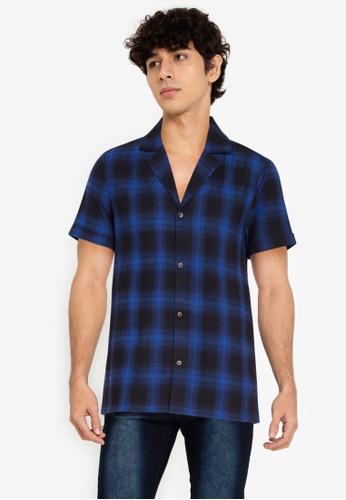ZALORA BASICS multi Checkered Bowling Shirt 02F8CAAFD3B9E9GS_1