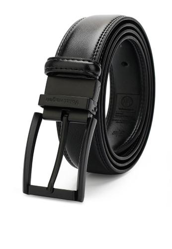 Volkswagen black Men's Belt - 35mm Reversible Belt 1921FAC8A14880GS_1