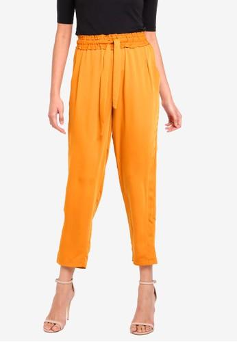 Vero Moda orange Venice Ancle Pants EE4B8AAB34477CGS_1
