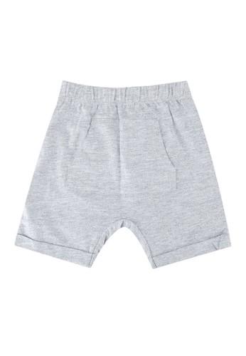 FOX Kids & Baby grey New Born Shorts 939E3KA11393CFGS_1