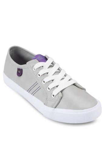 撞esprit part time色繫帶休閒鞋, 女鞋, 鞋
