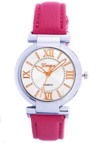 Digitec pink Fashion Geneva 007 - Jam Tangan Wanita - Silver Pink A DI108AC0VQGIID_1