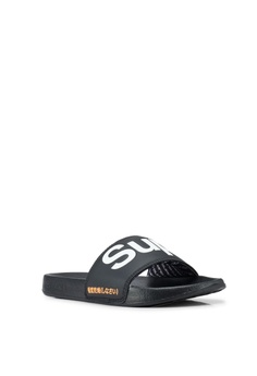 bdebfa0f6ce29 15% OFF Superdry Superdry Pool Slides RM 139.00 NOW RM 117.90 Sizes S M L