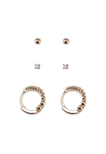 ALDO gold Archiva Earrings Set C72D2ACB7BFE7EGS_1
