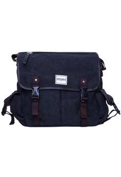 George Black Sling Bag