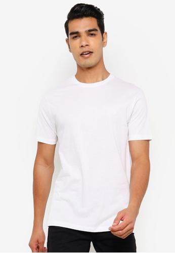 Springfield white Basic Logo T-Shirt 6F710AA1D69B8BGS_1
