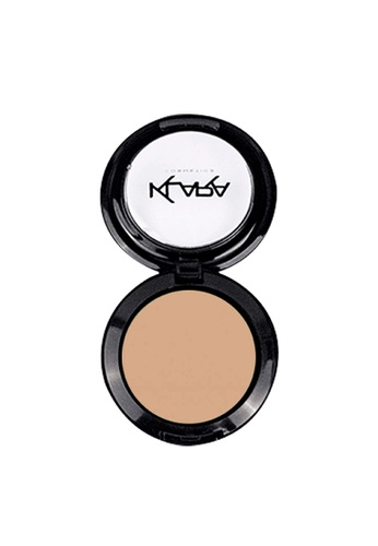 KLARA COSMETICS beige Matte Eyeshadow #35 - Cream Lace C746EBE2F71118GS_1