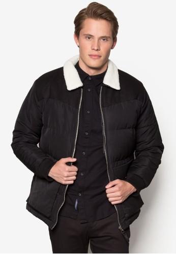 伯克領軟襯外套,zalora taiwan 時尚購物網 服飾, 冬裝外套