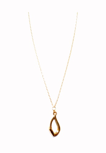 TOMEI gold [Online Exclusive] Kiss of Dewdrop Necklace - Tomei Yellow Gold 999 (24K) BTN-5D-030 7EC82AC6E9559AGS_1