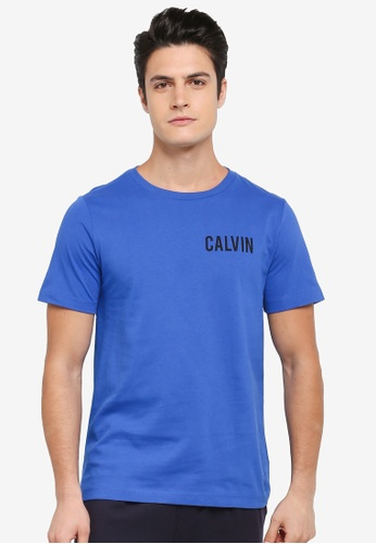 Calvin Klein blue Toreos Regular Crew Neck Short Sleeve T-Shirt - Calvin Klein Jeans 99408AAC1D5813GS_1