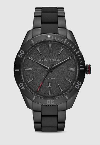 Armani Exchange black Enzo Watch AX1826 3A766AC10B505EGS_1