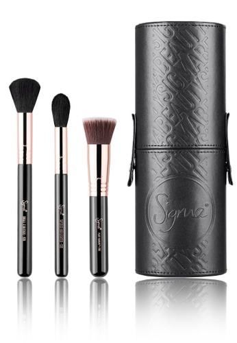 Sigma Beauty black and brown ZALORA Exclusive Face Favourites Set SI287BE0S3S4MY_1