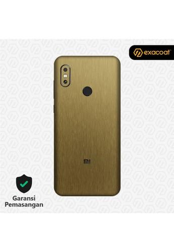 Exacoat Xiaomi Redmi Note 6 3M Skins Titanium Gold - Cut Only 2E8DDES83F0202GS_1