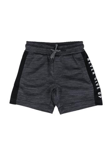FOX Kids & Baby grey Never Give Up Polyester Shorts 9C1FCKA2E3C1BFGS_1