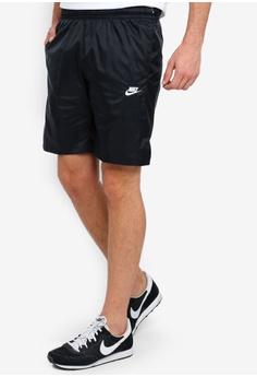 Blue Activewear Bottoms Self-Conscious Puma Pr Core 9 Inch Mens Running Shorts