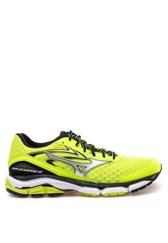 Mizuno yellow Wave Inspire 12 Running Shoes MI197SH44CMDPH_1