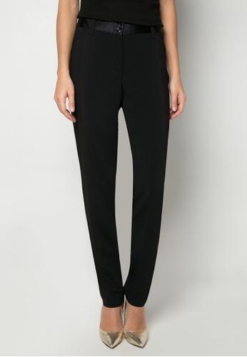 Dolce & Gabbana black Slim Trousers DA093AA87TRGPH_1