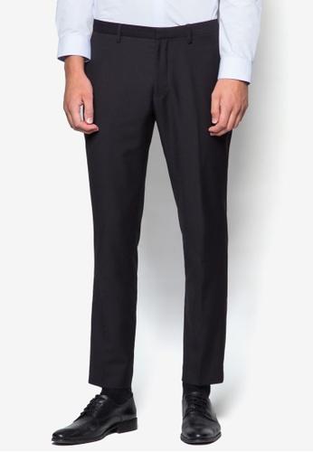 Burton Menswear London black Black Skinny Fit Trousers BU964AA09LEKMY_1
