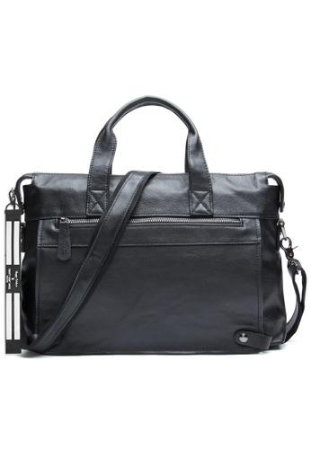 Twenty Eight Shoes black Vintage Leather Handmade Business Leisure Bag 6309 E1D85AC6028E03GS_1
