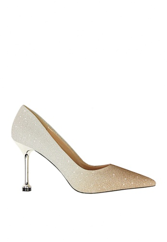 Twenty Eight Shoes gold Glitter Gradient Evening and Bridal Shoes VP07551 0C7DBSHAEBA86AGS_1