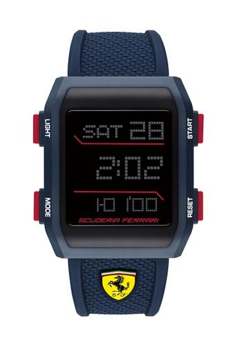 Scuderia Ferrari blue Scuderia Ferrari Downforce Blue Men's Watch (0830741) C766FACF8A2998GS_1