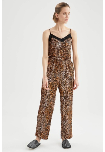 DeFacto orange Woman Homewear Woven Bottoms A4103AAF20A01EGS_1
