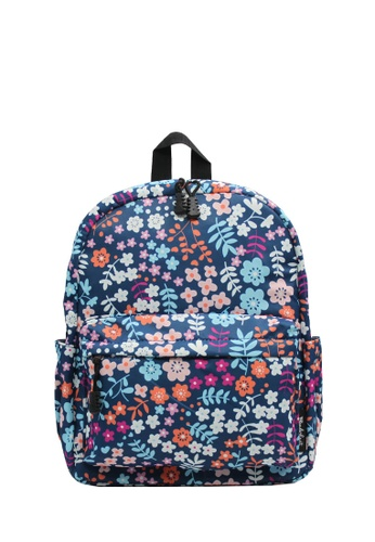 Wanderlust blue and multi and navy Wanderlust Backpack Poppi 456A0KCE12BF1EGS_1