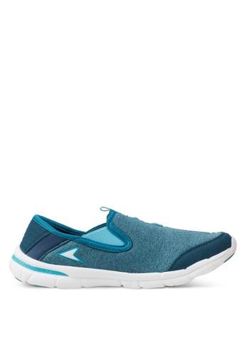 Power blue N-Walk Calm Walking Shoes 26762SH714BCA3GS_1