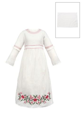INFINE white Muslim Dress Anak Esm 166 6/12 B402EKA622E60DGS_1