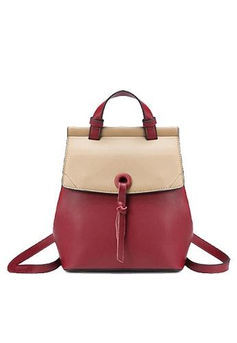 Twenty Eight Shoes red VANSA Nappa Leather Backpacks VBW-Bp228 128B0AC4621C57GS_1