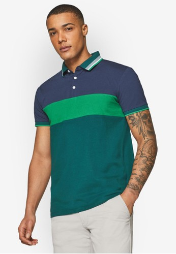 ESPRIT green Jersey Polo Shirt 0ABBCAAD5767A2GS_1