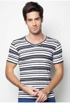 Mens Stripe Tee