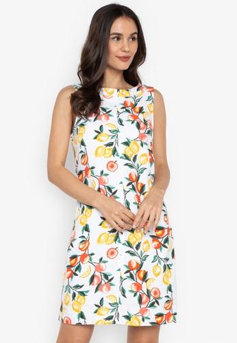 19ceca4ea5 Shop MARKS   SPENCER Linen Rich Printed Dress Online on ZALORA ...