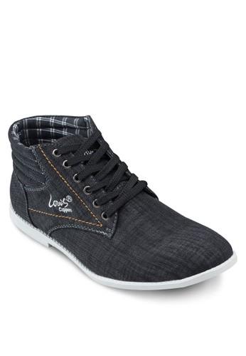 高筒繫帶休閒鞋, 鞋,esprit 工作 鞋