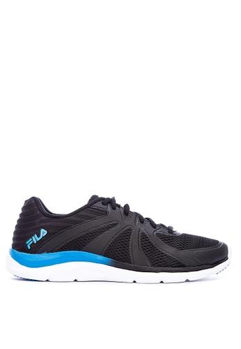 FILA black Memory Fraction 3 Running Shoes 1CFB5SHD90B22FGS_1