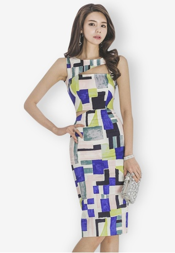 Sunnydaysweety multi Multi Sleeveless One Piece Dress 9C3C4AA2F96529GS_1