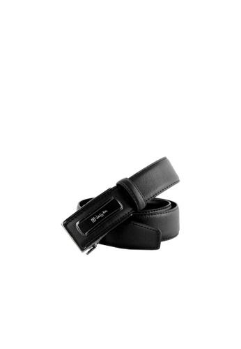 Valentino Rudy black Valentino Rudy Italy Men's 36mm Leather Auto Gear Buckle Belt 0463002-313 CB644ACC8CDFCEGS_1