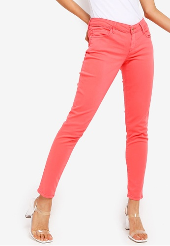 Guess red Marilyn Low Rise Skinny Fit Jeans 4BF1BAADACCD8EGS_1