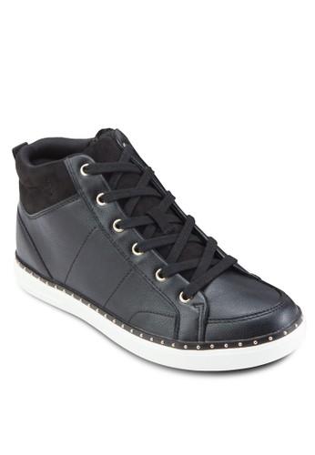 Drina 高筒繫帶休閒鞋zalora taiwan 時尚購物網, 女鞋, 鞋