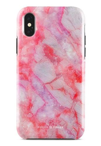 Polar Polar pink Gloaming Island Dual-Layer Tough Case Glossy For iPhone X / XS 52A39ACEE8E08CGS_1