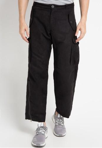 (X) S.M.L black Nero Pants XS330AA0WE9SID_1