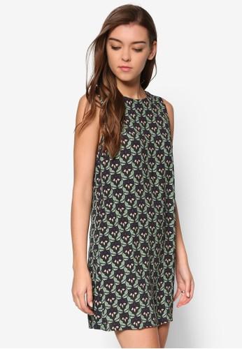 花卉直筒連身裙、 服飾、 洋裝Glamorous花卉直筒連身裙最新折價