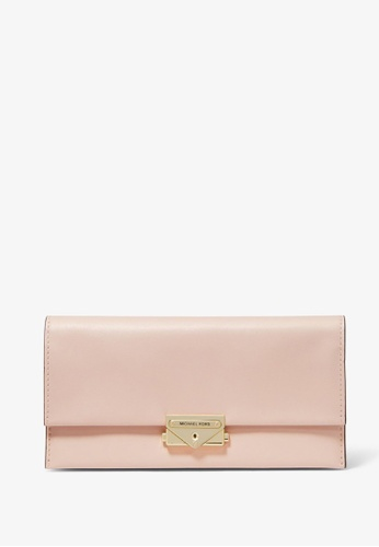 Michael Kors pink Michael Kors Cece Large Leather Wallet - Soft Pink 10009ACCDAC14BGS_1