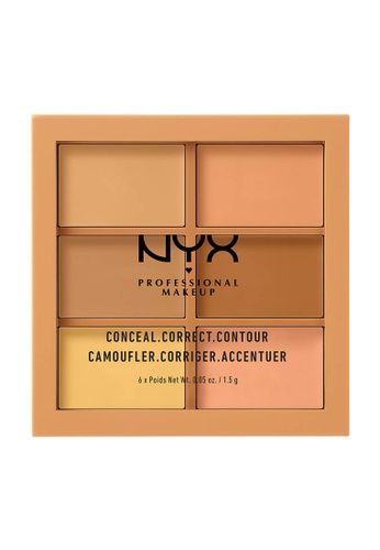 NYX Professional Makeup multi NYX Professional Makeup 3C Conceal, Correct, Contour Palette - Medium 88DD2BE2993CF6GS_1