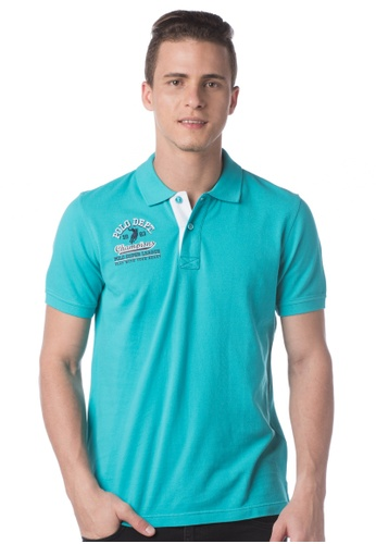 POLO HAUS blue Polo Haus - Polo Tee  (Blue) PO783AA39LKUMY_1