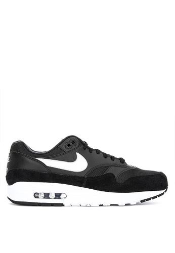 Nike black Men's Nike Air Max 1 Shoes 6975BSH4198DFEGS_1