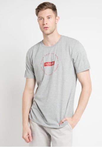 hurley multi and grey Change Of Tide Dri-Fit T-Shirt EB5ACAA73E37E0GS_1