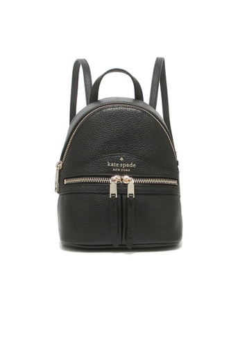 Kate Spade black Kate Spade Karina mini Convertible Backpack Black wkru7056 FC686AC855A49AGS_1