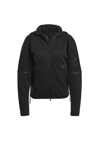 ADIDAS black adidas Z.N.E. Parley Hoodie C11CBAA198B24FGS_1