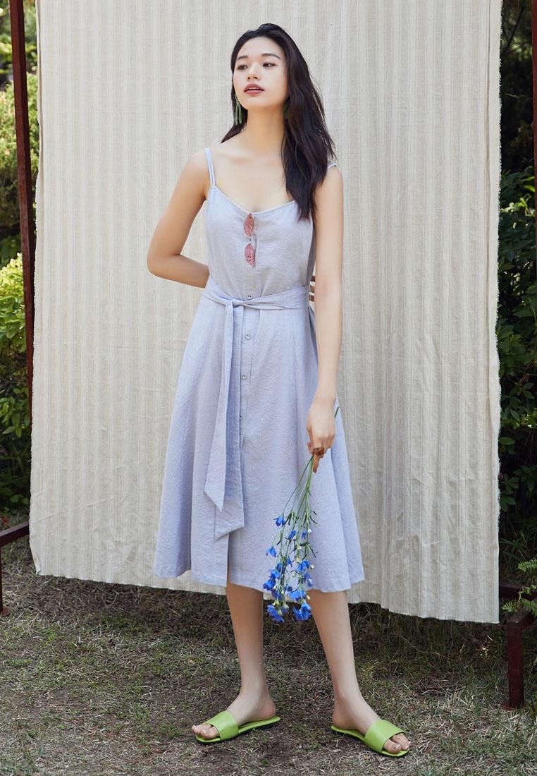 Flare Blue Dress Blue NAIN Flare Flare Dress NAIN Stripe Stripe Stripe Dress xaaqAfYF
